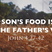 The Son's Food Is to Do the Father's Will - Audio