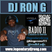 DJ RON G RADIO 11- CLASSIC MUSIC & BLENDS