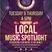 The Local Music Spotlight: 1st November 2018