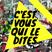 """""""C'EST VOUS QUI LE DÎTES !"""" (19.04.2018) Invité(s) : Biodanz'Attitude"""