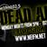 Dead Air Radio - Monday 21st March 2016 - NE1fm 102.5
