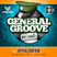 GENERAL GROOVE - Web Mix Show 014 | House Music / Tech+Club+Deep (2016/12/14)