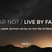 """""""Fear Not / Live By Faith - Week 1"""" Featuring Steve Colby"""