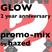 Glow 2 Year Anniversary promo mix: by Hazed