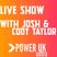 Sunday Show With Josh Beeton & Cody Taylor