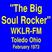 "WKLR 99.9 FM =>>  ""The Big Soul Rocker"" in Toledo Ohio  <<= Friday, 2nd February 1973"