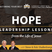 HOPE | Leadership Lessons from the Life of Jesus