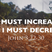 He Must Increase, but I Must Decrease - Audio