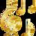 GOLD SIR  DOMINENT MIX