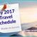121: My 2017 Travel Schedule