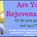 OAC 274 Are You Rejuvenating?