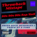 Throwback Mixtape Vol. 1 | Rap | RnB | 80s, 90s, 00s image