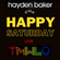 """Hayden Baker LIVE for T.M.W.L.O """"Happy Saturday"""" 27.03.2021 image"""