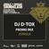 Vibez Promo Mix - December 2019 - DJ D-TOX - Jungle image