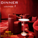 DINNER LOUNGE 1 Mixed by Dj NIKO SAINT TROPEZ image