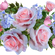 """""""Roses are pink"""" Mix image"""