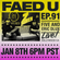 FAED University Episode 91 - 01.08.20 image