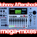 Johnny Aftershock Megamixes - Hip Hop mix vs Latino 96.3 FM mix - Digital 8 track - late 90s 00's image