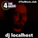 dj localhost - 4 The Music - disco, funk, funky house - old classics mixed with new image