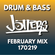 Jotters February 2019 mix - drum and bass image