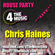 4 The Music House Party - Live - Chris Haines - Club House Mix Set image