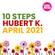 Junction Transmission presents 10STEPS programmed by HUBERT K. image