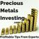 Silver,Gold, Dollar, Charts - Precious Metals Investing.com image