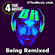 """Being Remixed """"DiscOrama"""" - 4 The Music Exclusive Mix image"""