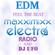 ERSEK LASZLO alias Dj UFO presents MAXXIMIXX Electra radio EDM MUSIC Feel the beat image