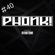 PHONK! RADIO 40 – 100% TECHNO PODCAST POWERED BY RESISTOHR – 22.05.18 image