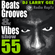 Beats, Grooves & Vibes 55 by DJ Larry Gee image