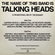 THE NAME OF THIS BAND IS TALKING HEADS - A DJ MIX BY THE BOGART image