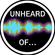 Unheard Of - 21st October image