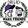 Make Friends Radio - Episode 4 Feat. Hotmood (April 2018) image