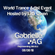 Gabrielle AG Live @ World Trance DJ Event 2018 Hosted by Lisa Owen image