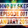 001 | Techno By Skeptic | January 2018 | Adam Beyer, Enrico Sangiuliano, Amelie Lens image