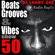 Beats, Grooves & Vibes #50 by DJ Larry Gee image