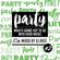 PARTY #002 R&B,Pop,Afrobeats,House,Dancehall,EDM, image