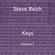 Steve Reich Keys, a Mixtape, Vol. 1 image