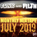 The Funk And Filth Monthly Mixtape July 2019 - Bombstrikes Special image