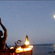The Buddha and the Scorpion: Full Moonrise May 2020 Whynam Beach image