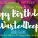 Happy Birthday WastedDeep! - WastedDeep, Roudy & MrTDeep B2B Party Megamix - 24/12/2020 image