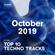 DI.FM Top 10 Techno Tracks October 2019 image