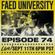 FAED University Episode 74 - 09.11.19 image