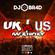 UK vs US - Rap & Hiphop Mix image