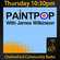 Paint Pop - #PaintPop - James Wilkinson - 15/01/15 - Chelmsford Community Radio image