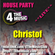 4 The Music House Party - Live - Christof - Disco Tipped Sparkly Funk Mix image