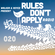 Rules Don't Apply Radio 020 (feat. Lubelski) image