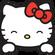美丽女人~穿心箭@2k17@hello kitty image