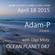 Adam-P - Ocean Planet 047 Guest Mix [Apr 18 2015] on Pure.FM image